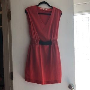 Orange fall short sleeved Rachel Roy dress